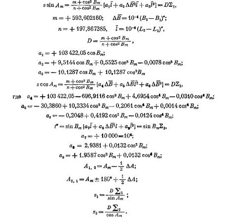 Программы для решения геодезических задач
